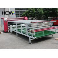 Quality Oil Rotary Drum Sublimation Heat Transfer Press Machine With Blanket for sale