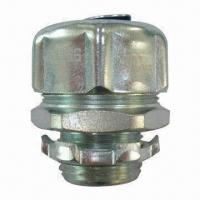 Quality Liquid Tight Straight Connector, NPT Thread, UL/cUL Listed, Conduit Fittings for sale
