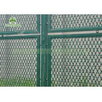 China Hot Dipped Galvanized Welded Razor Blade Wire Mesh 2m Height For Bridges Safety on sale