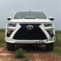Quality Toyota Hilux Revo Rocco Auto Front Bumper Face Body Kits Upgrade To Lexus 570 for sale