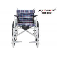 Quality Super Lightweight Wheelchair Foldable , Lightweight Wheelchairs For Adults for sale