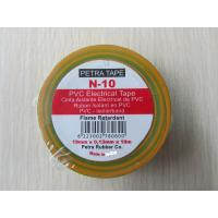 Buy cheap High Adhesive Quality Acid-proof Alkali PVC Electrical Insulation Tape product