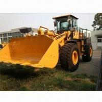 China DG958 Wheel Loader with Cummins Engine, Rock Bucket and WG180 Transmission Box on sale
