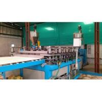 Quality Waste Plastic Extrusion Line , WPC Foam Board Extrusion Equipment for sale