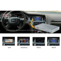 Quality Mirrorlink Audi Video Interface with Video Recorder , Audi A8L A6L Q7 Multimedia Interface for sale