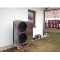 Buy Air Source Chiller Air To Water Heat Pump , EVI Air Source Heat Pump 18kw WIFI Control at wholesale prices