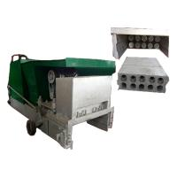 Buy lightweight green building precast concrete wall panel extruding machine at wholesale prices