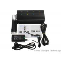 Buy cheap Desktop Smart Cell Phone Signal Jammer , Cellular Phone GPS WiFi Jammer product