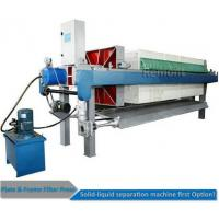 China Automatic Program controlled  Hydraulic PP Filter Press Machine Price on sale