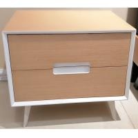 Quality Metal supporting leg storage cabinet, wood structure wtih 2 drawers and Convenient handle for sale