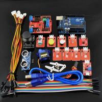 China Ardublock Graphical Programming Starter Kit for Arduino with Uno R3 9g Servo LED Module Zero Based Learning tool on sale