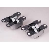 Quality Zinc Alloy Zama Italian Hinges 180 Degree Concealed Hinge , Thickness 40mm for sale