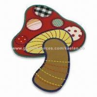 Quality Embroidered Applique Patch for Apparels, Garments and Ornaments, Made of Polyester Material for sale