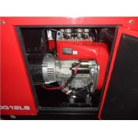 Quality 12KW Super Silent Portable Diesel Generator Set Air-cooled Three Phases for sale