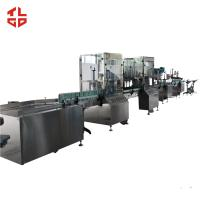 Buy cheap Stainless Steel Aerosol Spray Paint Filling Machine For Sanitizer Disinfector Spray product