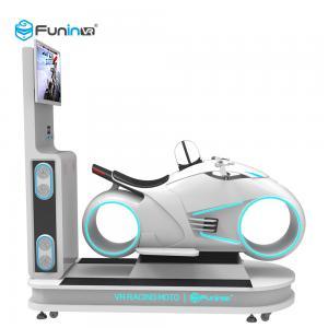 China 1 Player Park Ride VR Driving Simulator / 360 Degree 9D VR Cinema on sale