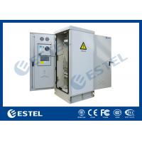 Quality Temperature Control 41U Outdoor Rack Cabinet Double Door Anti Corrosion Powder Coated for sale
