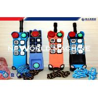 Quality Multiple Colors Suspended Platform Parts, 6 Buttons Single Speed Industrial Radio Crane Re for sale