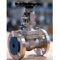 Quality Forged Flanged Ends Globe Valve Forced Small Friction With Back Seal Design for sale