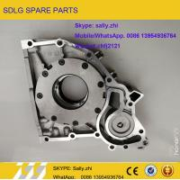 Quality SDLG FRONT COVER OIL PUMP, 4110000509161, sdlg  spare  parts for sdlg wheel loader  LG936 for sale
