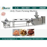 Quality Cold Extruded Dog Jerky Snack Treat Machine with capacity of  200-300kg per hour Pet Food Machine for sale