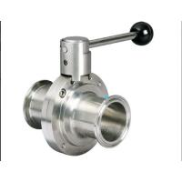 Quality Stainless Steel Hygienic Butterfly Valve for sale