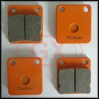Motorcycle Best Quality Brake Pads CG125 in orange color