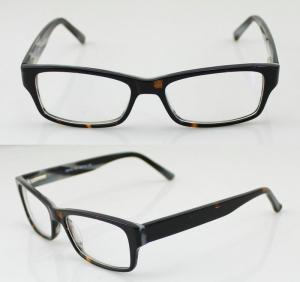 China Unisex Flexible Hand Made Acetate Optical Frames , Fashion Eye Glasses on sale