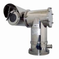 Quality 550TVL 18X Auto Tracking Explosion Proof PTZ Camera For Industry Hazardous Area for sale