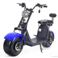Buy 1500W Brushless Motor Electric Harley Scooter 60v 12ah Double Lithium Battery Choice at wholesale prices