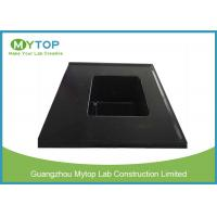 Quality Integrated Chemical Resistant Epoxy Resin Lab Sinks With Laboratory Water Basin for sale