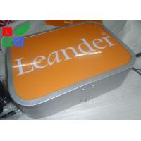 Quality Water Resistant LED Illuminated Projecting Signs No Light Spot For Store Logo for sale