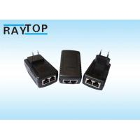 Quality 48W 24V RJ45 PoE Power Adapter Output Port Power Cable Included For Telecom Charger for sale