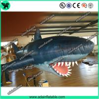 Quality 3m Inflatable Shark with Blower for Indoor Event Stage Decoration,Inflatable Shark Model for sale