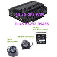Quality Hybrid HD Mobile DVR 8CH 1080P  4G GPS WIFI rs485 RS232 RJ45 for school  bus for sale