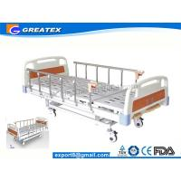 China 3 Crank Hospital Style Beds With Name Card On Head board side on sale