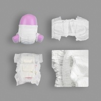 Elastic Waist Daily Changing Disposable Sleepy Baby Diapers