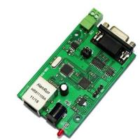 Buy cheap RS232 RS485 to ethernet serial to Ethernet server module converter product