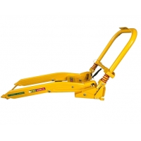 Quality Traffic Yellow Construction Areas Lightweight Portable Vehicle Barricades for sale