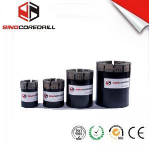 Quality Medium To Hard Formation Impregnated Diamond Core Drill Bit bq nq hq pq for sale