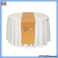 Quality Gold Satin Table Runner-J02906 for sale