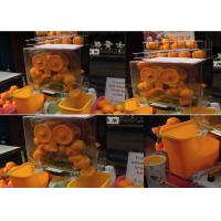 Quality Auto Feed Orange Lemon Squeezer Portable With 22 - 25 Oranges Per Mins for sale
