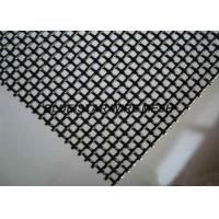 Quality Durable Stainless Steel Woven Wire Mesh Security Window Screen 10 / 11 / 12 / 14 / 16  Mesh for sale