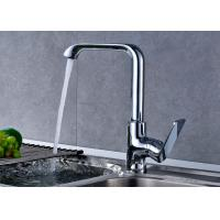 Quality Ceramic Cartridge Kitchen Sink Taps , Single Hole Kitchen Faucet ROVATE for sale