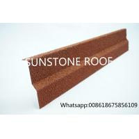 China European standard Aluminium Zinc Roofing Sheets/ good quality Stone Coated Metal Roof  Side flashing on sale