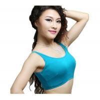 Quality Comfortable Colorful Cotton Belly Dancing Bra Tops For Dance Stage for sale