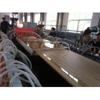 Quality Furniture / Buliding WPC Extrusion Machine For Door Board 25mm-40mm Thickness for sale