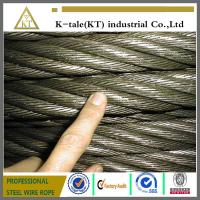 8*19S+IWR elevator wire rope /steel cables/Emergency Towing Cable