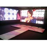 Quality Portable Club Event P4.81 LED Dance Floor Display Screen Full Color for sale