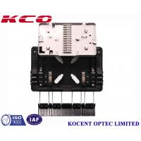 Quality Aerial 1*8 PLC Fiber Optic  Splitter Box Outdoor Water-proof KCO-GJS08 For FTTH GPON ABS PP for sale